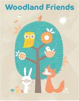 Woodland Friends: Pull-out Prints (Paperback)