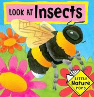 Look at Insects: Little Nature Pops - Little Nature Pops (Hardback)