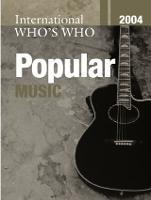 International Who's Who in Popular Music 2004 (Hardback)