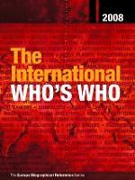 The International Who's Who 2008 (Hardback)