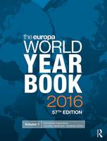 The Europa World Year Book 2016