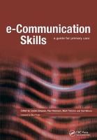 E-Communication Skills: A Guide for Primary Care (Paperback)