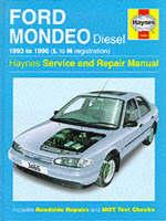 Ford Mondeo Diesel Service and Repair Manual - Haynes Service and Repair Manuals (Hardback)