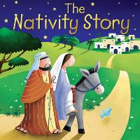 Nativity Story - Candle Bible for Kids (Board book)