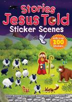 Stories Jesus Told Sticker Scenes - Sticker Scenes (Paperback)