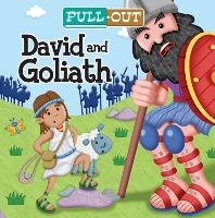 Pull-Out David and Goliath - Candle Pull-Out (Board book)