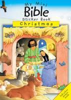 Christmas: Mini Bible Sticker Book Christmas - Mini Sticker Books (Paperback)