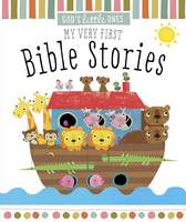 God's Little Ones: My Very First Bible Stories (Board book)