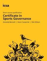 Sports Governance (Paperback)