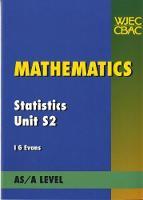 Mathematics Statistics Unit S2 (Paperback)