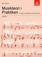 Musikteori i Praktiken Grad 1: Swedish language edition - Music Theory in Practice (ABRSM) (Sheet music)