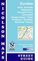 Nicolson Street Map Dundee (Card Cover)