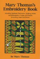 Mary Thomas's Embroidery Book (Paperback)