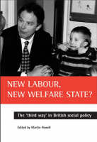 New Labour, new welfare state?: The 'third way' in British social policy (Paperback)