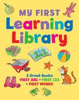 My first learning library: 3 Great Books: ABC * First 123 * First Words (Board book)