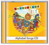 ELT Alphabet Songs - Letterland S. (CD-Audio)