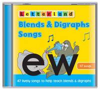 Blends and Digraphs Songs - Letterland S. (CD-Audio)