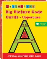 Big Capital Picture Code Cards - Letterland S.