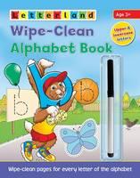Wipe-Clean Alphabet Book (Paperback)