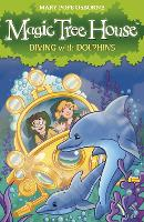Magic Tree House 9: Diving with Dolphins - Magic Tree House (Paperback)