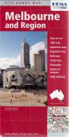 Melbourne 2009 (Sheet map, folded)