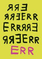 Err - New Writing (Paperback)