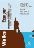 Walks Exmoor: Including Minehead to Ilfracombe: Short Walks from the South West Coast Path - Hallewell Pocket Walking Guides (Paperback)