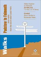 Walks Padstow to Falmouth: Short Walks from the South West Coast Path - Hallewell Pocket Walking Guides (Paperback)