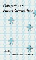 Obligations to Future Generations (Hardback)