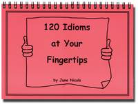120 Idioms at Your Fingertips (Spiral bound)