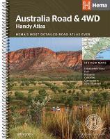 Australia Road and 4WD handy atlas B5 spiral 2018 (Spiral bound)