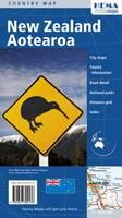 New Zealand Aotearoa 2010 (Sheet map, folded)