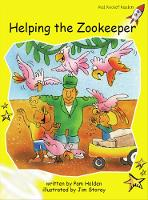 Red Rocket Readers: Early Level 2 Fiction Set B: Helping the Zookeeper (Paperback)