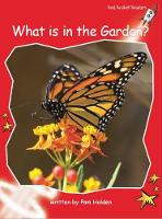 Red Rocket Readers: Early Level 1 Non-Fiction Set A: What is in the Garden? (Paperback)