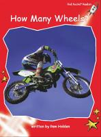 Red Rocket Readers: Early Level 1 Non-Fiction Set A: How Many Wheels? (Paperback)