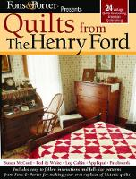 Quilts from the Henry Ford (Paperback)