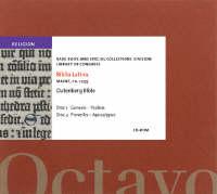 Biblia Latina: Gutenberg Bible (CD-ROM)