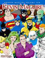 Modern Masters Volume 10: Kevin Maguire (Paperback)