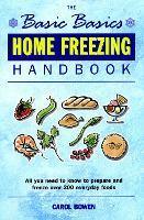 Basics Basics Home Freezing Handbook (Paperback)