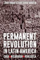 Permanent Revolution in Latin America (Paperback)