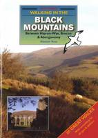 Walking in the Black Mountains Between Hay-on-Wye, Brecon & Abergavenny (Paperback)