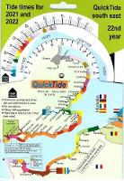 QuickTide south east: tide times for 2021 and 2022, 22nd year