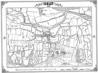 Ilkley 1847 Map - Heritage Cartography Victorian Town Map Series (Sheet map, folded)