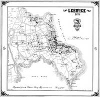 Lerwick 1878 Map - Heritage Cartography Victorian Town Map Series (Sheet map, folded)