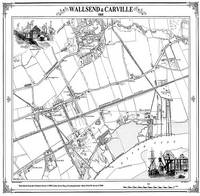 Wallsend 1860 Map - Heritage Cartography Victorian Town Map Series (Sheet map, folded)