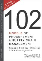 102 Models of Procurement and Supply Chain Management (Paperback)