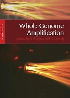 Whole Genome Amplification: Methods Express - Methods Express Series (Paperback)
