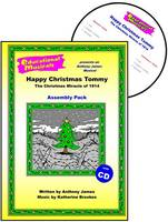 Happy Christmas Tommy - The Christmas Miracle of 1914 (Assembly Pack) - Educational Musicals - Assembly Pack S. (Spiral bound)
