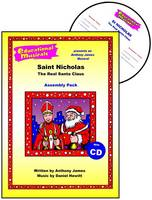 Saint Nicholas - The Real Santa Claus (Assembly Pack) - Educational Musicals - Assembly Pack S. (Spiral bound)
