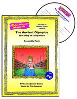 The Ancient Olympics: The Story of Callipateira (Assembly Pack) - Educational Musicals - Assembly Pack S. (Spiral bound)